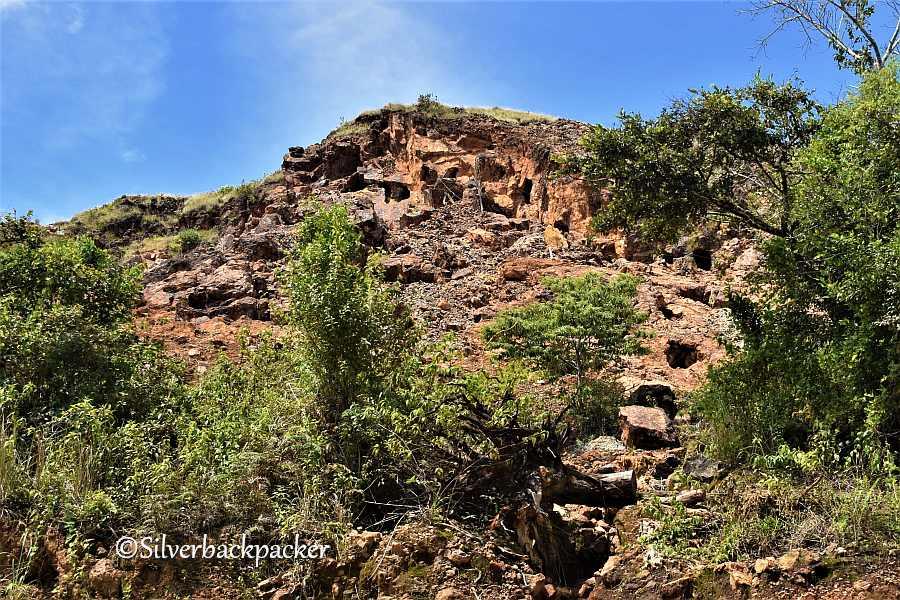 Mt Capcapo Gold Mines km 458