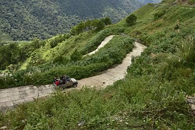 Road to Sitio Nagpaoayan, Licuan Baay, Abra