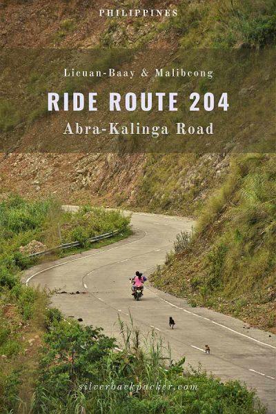 Abra Kalinga Road Route 204 Licuan-Baay Malibcong to Kalinga Road in Abra, Philippines