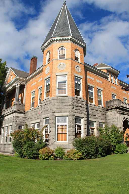 Haskell Free Library and Opera House. Places to visit in Canada