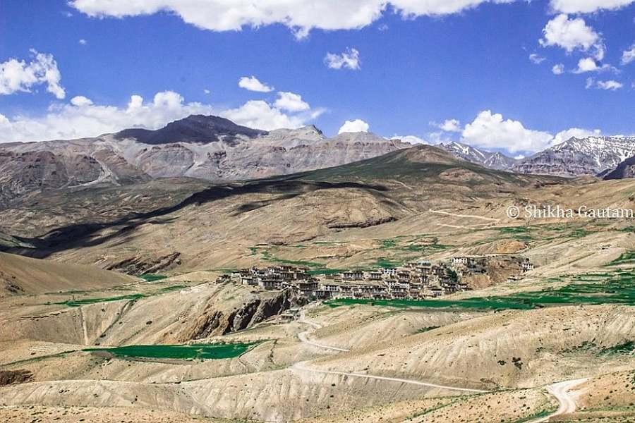 Spiti-Villages offbeat india tour ideas