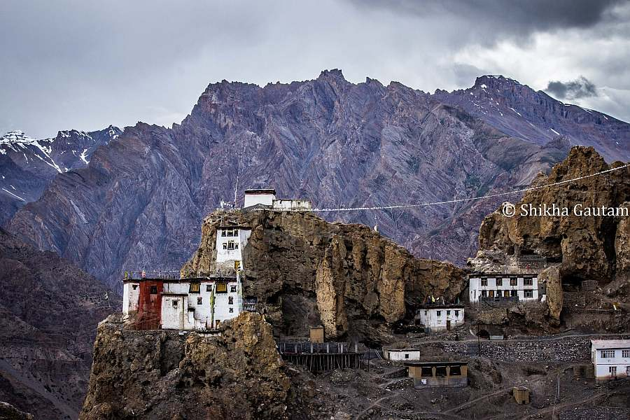 Dhankar Gompa Dhankar Monastery in Spiti