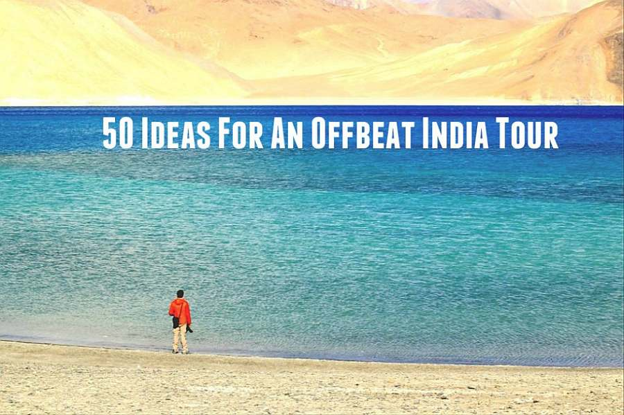 Pangong-Lake 50 ideas for an offbeat india tour