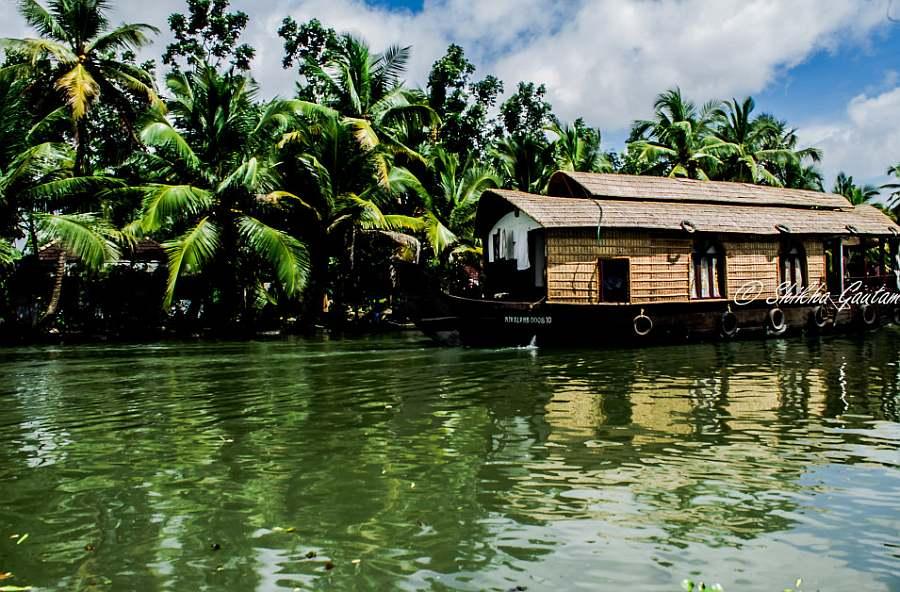 houseboat, kerala India