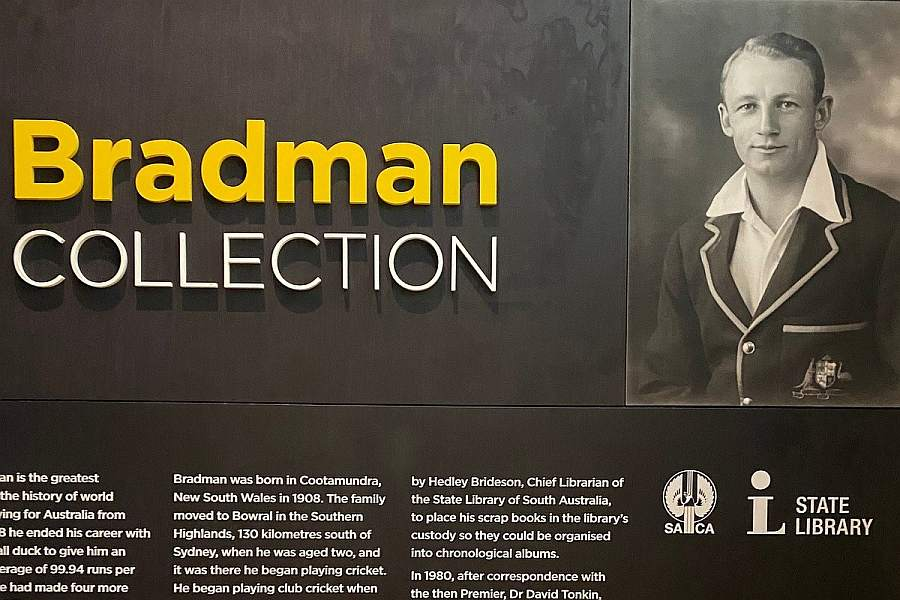 Bradman Collection, Adelaide Oval free things to do in adelaide