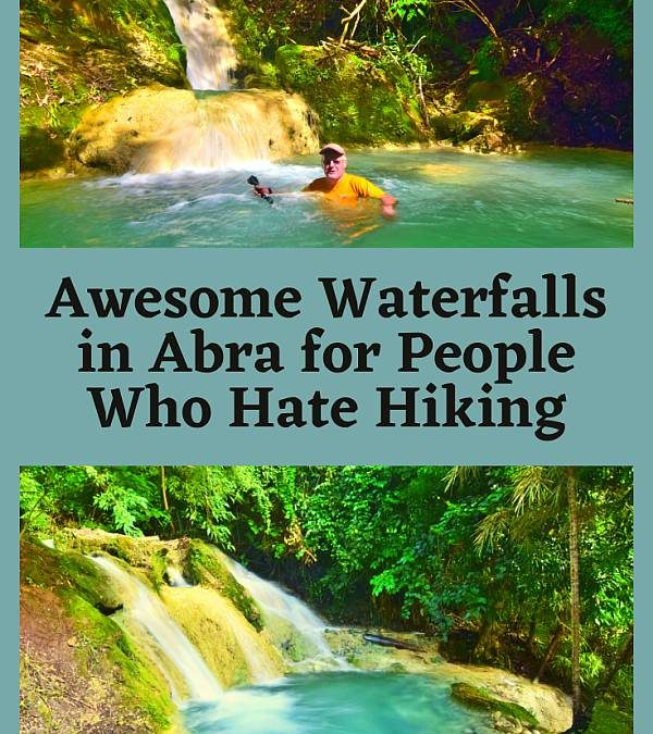 15 Awesome Waterfalls in Abra for People who Hate Hiking