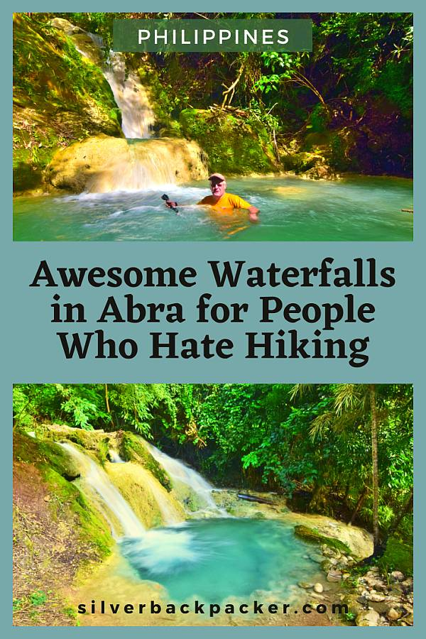 Awesome waterfalls in Abra for people that hate hiking