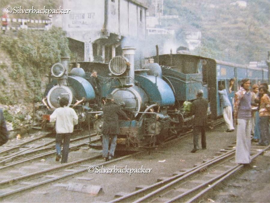 Darjeeling train 1977