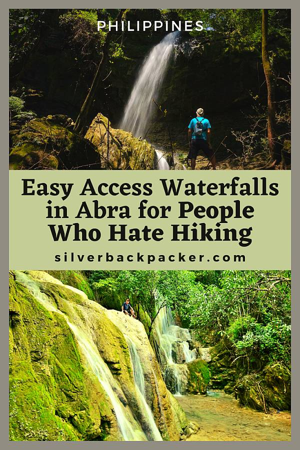 Easy access waterfalls in Abra for people that hate hiking