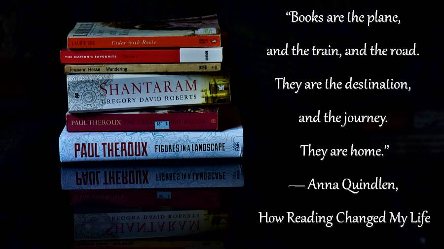 Favourite Travel Book quote