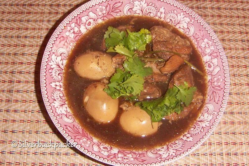 Kai Pa Lo (Pot stewed egg)
