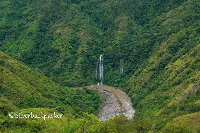 Nangaskasan Falls , Nagaparan, Danglas, Abra from Sagao viewdeck