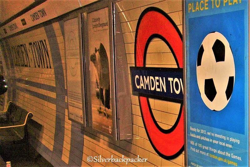 August 2011 Camden Town underground station