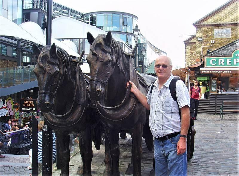 Camden Market Horse Stables August 2011